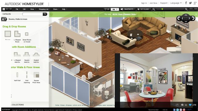 Autodesk Homestyler Free Online Modular Kitchen Design Softw Autodesk Homestyler Tutorial House