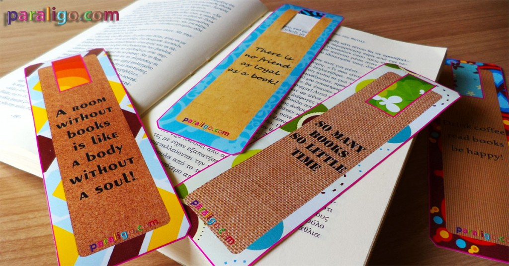 Free printable bookmarks 1