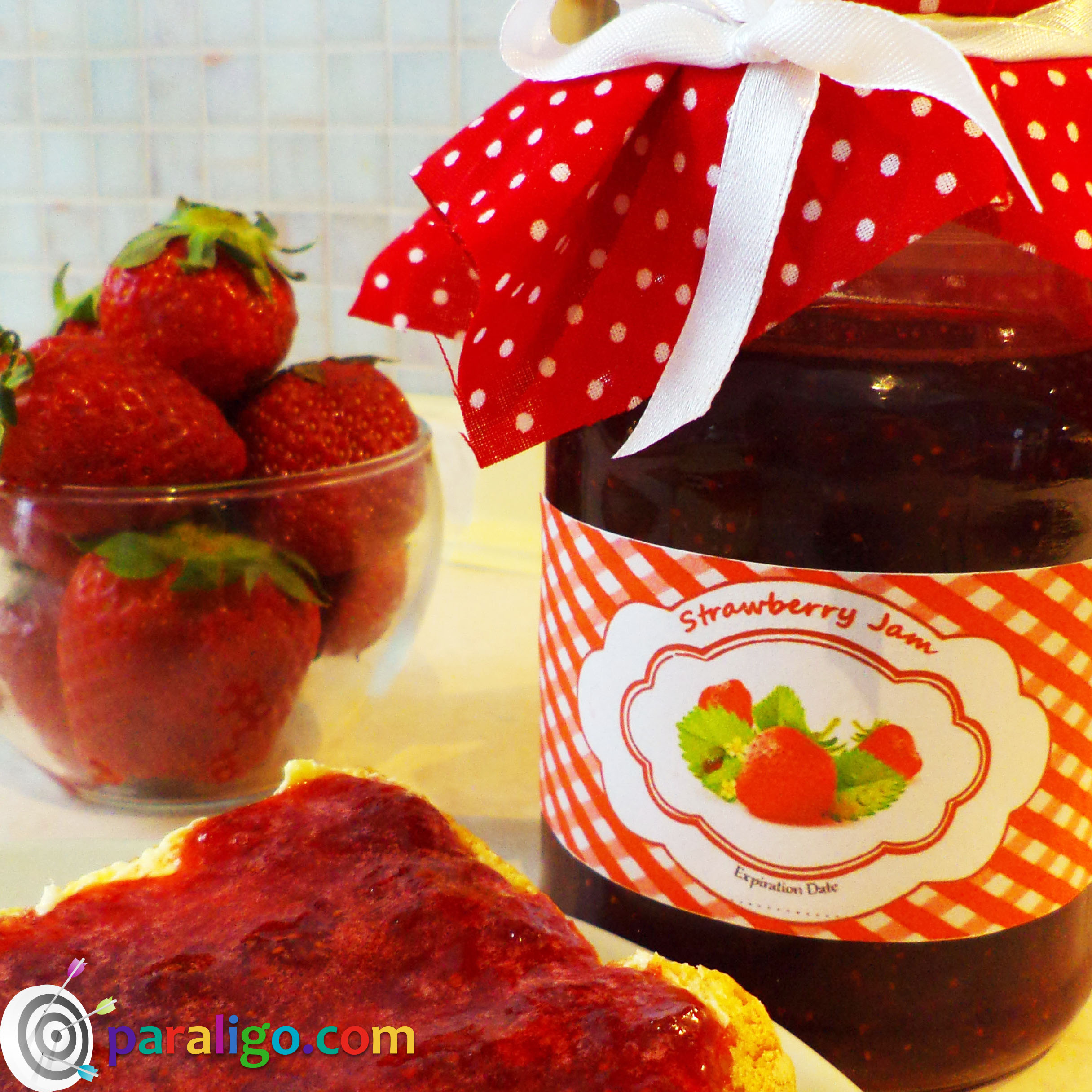How_to make strawberry jam 1