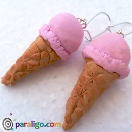 Polymer clay tutorial: Ice cream cones