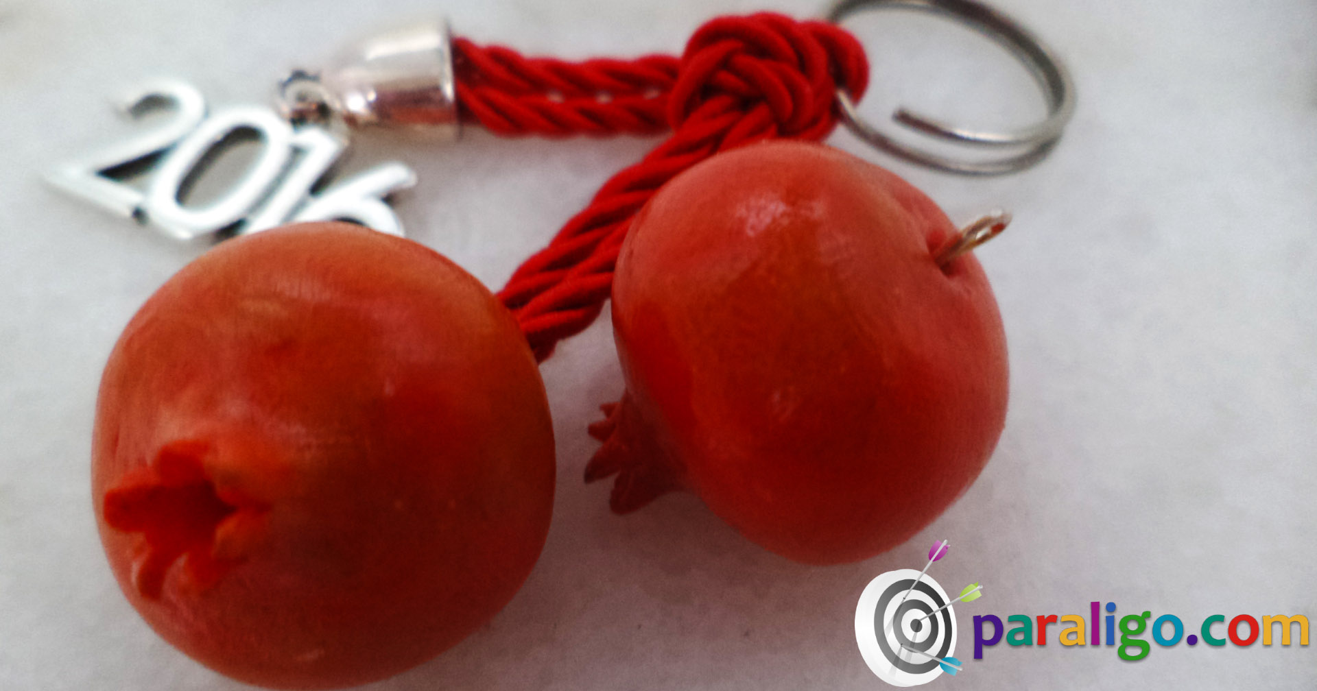 Polymer clay charms pomegranates - Deseed pomegranate less one minute video ...