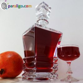 Pomegranate  liqueur!