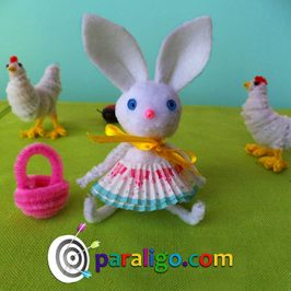Easy Easter Craft: Easter Bunny