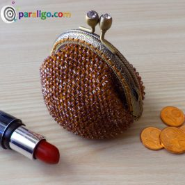 Crochet Tutorial : Beaded Coin Purse