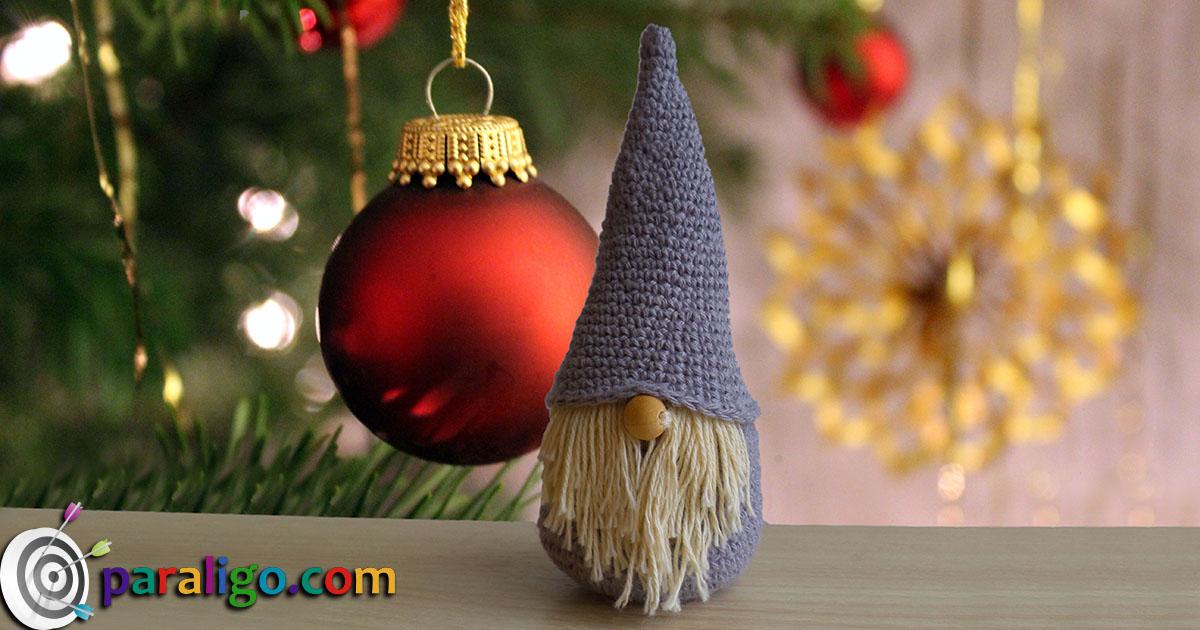 christmas gnome crochet paraligocom - Christmas Gnome